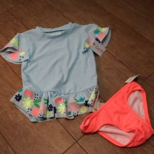 NWT Girls 4T bathing suit